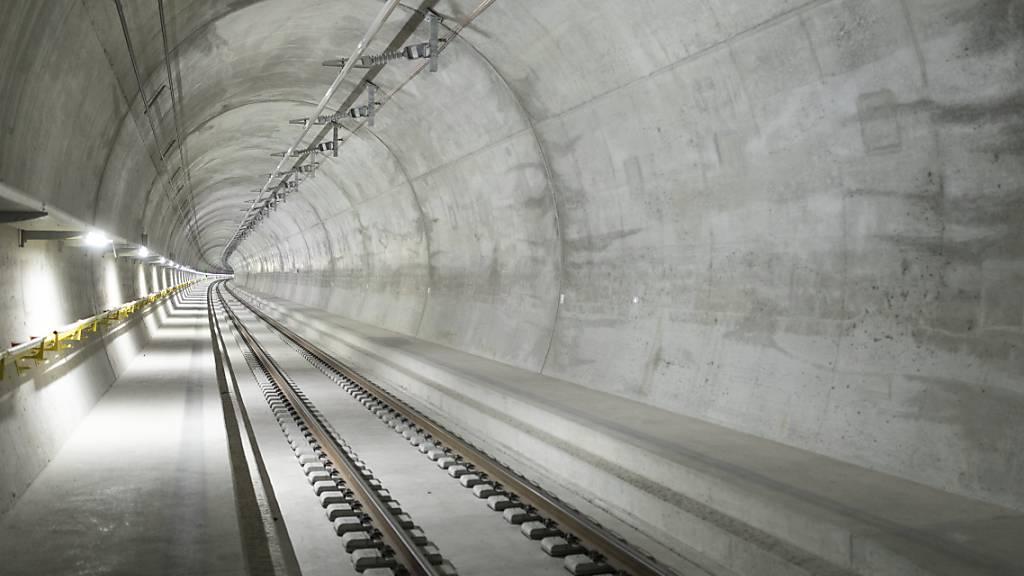 Ceneri-Basistunnel ist Ende 2020 wieder frei für Bahnverkehr