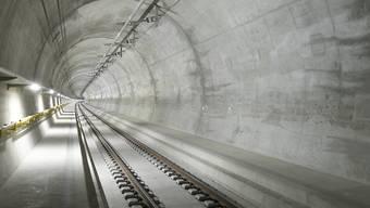 Mit der Fertigstellung des Ceneri-Basistunnels ist das Jahrhundertprojekt Neue Eisenbahn-Alpentransversale (Neat) vollendet. (Archivbild)