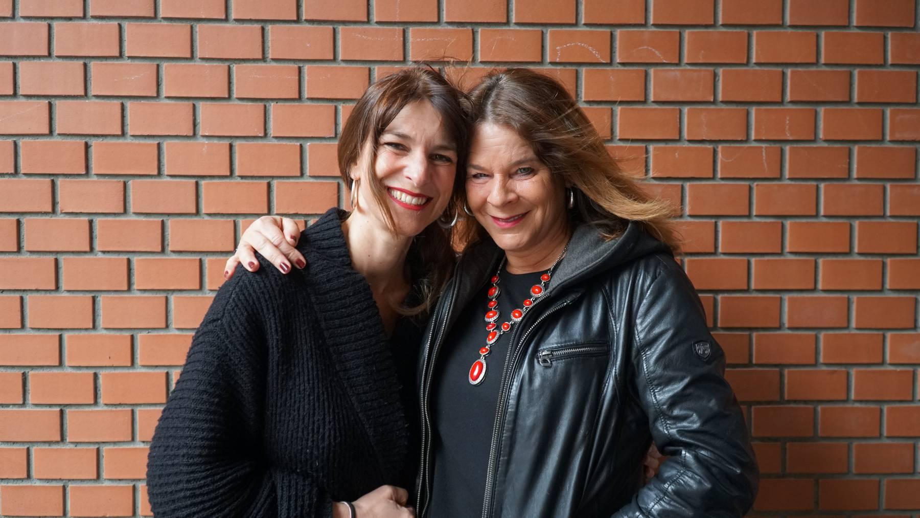Sharon Zucker mit Rahel Valdivieso