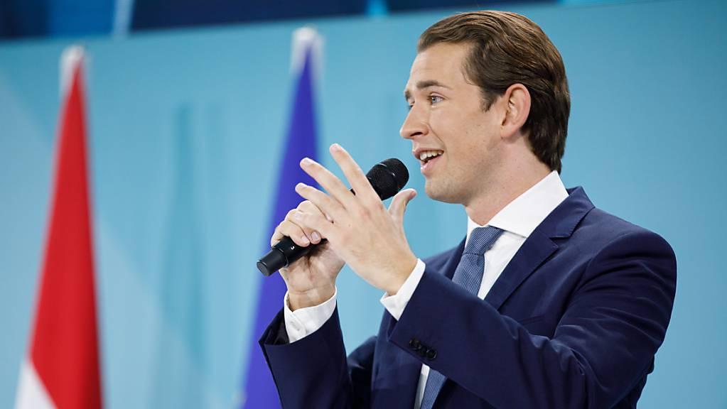 Der Gewinner der Wahlen in Österreich vom Sonntag heisst Sebastian Kurz.