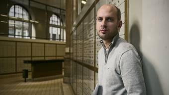 Auf dem Weg zurück zu einer Politkarriere: der alte und neue SVP-Parteisekretär Joël Thüring.