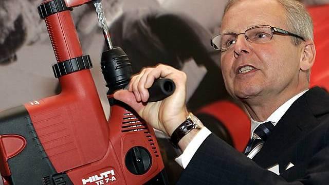 Hilti-CEO Bo Risberg (Archiv)