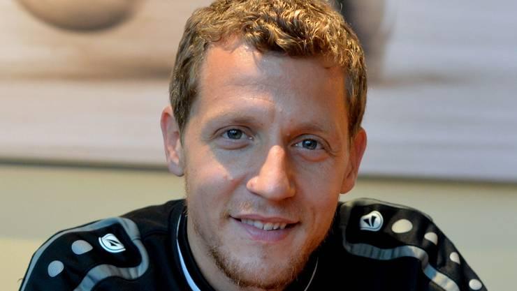 Mit Fussball soll noch lange nicht Schluss sein: Marco Wölfli will sich noch mindestens während viereinhalb Jahren die Torhüterhandschuhe anziehen.