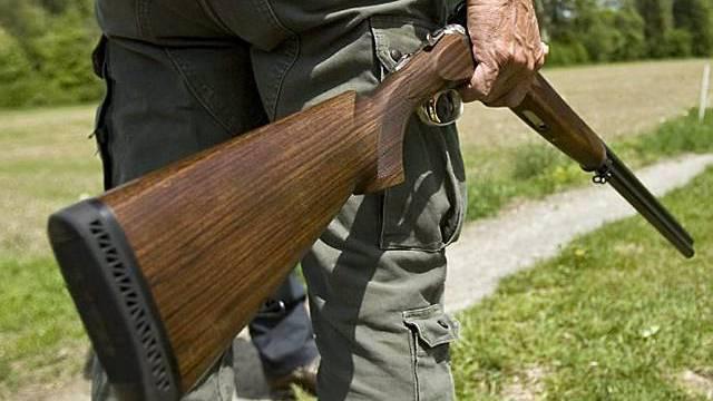 Gewehre gehören zu leichten Waffen