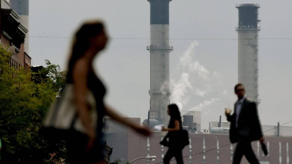 USA könnten in Paris vereinbarte Klimaziele einhalten