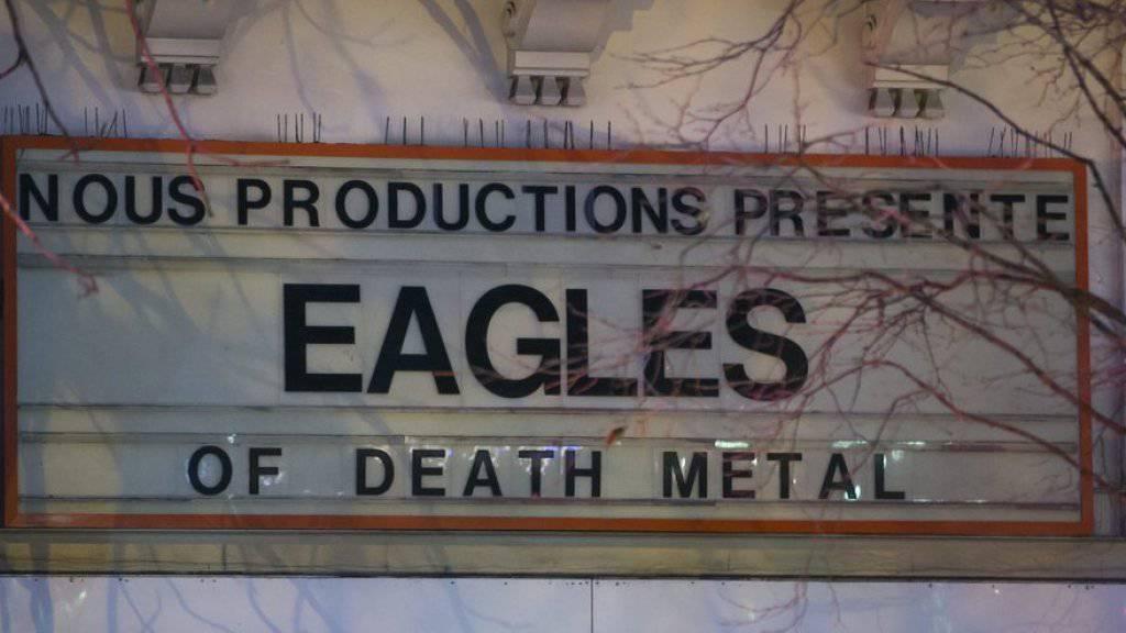 Seit den Pariser Terroranschlägen - unter anderem beim Eagles of Death Metal Konzert - beklagen Veranstalter extreme Umsatzeinbrüche (Archiv).