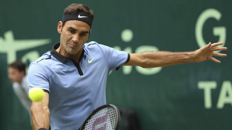 Federer gewann den Final souverän in zwei Sätzen.