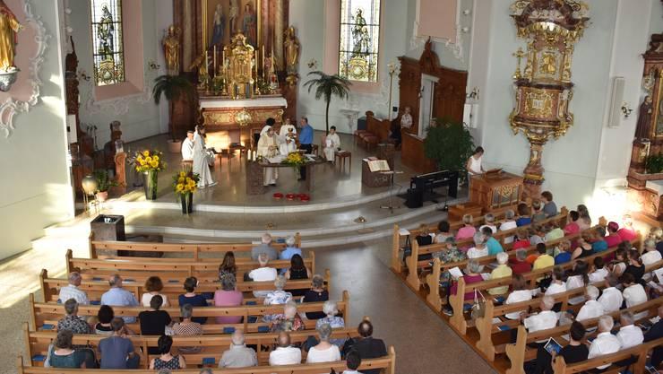 Dem Festgottesdienst anlässlich der Kirchennacht stand der neue Bischofsvikar Georges Schwickerath vor.