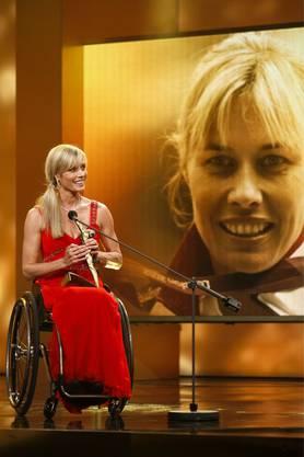 Edith Wolf-Hunkeler gewinnt den Sports Award als Behindertensportlerin des Jahres