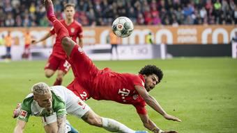 Serge Gnabry und die Bayern straucheln im Derby bei Augsburg