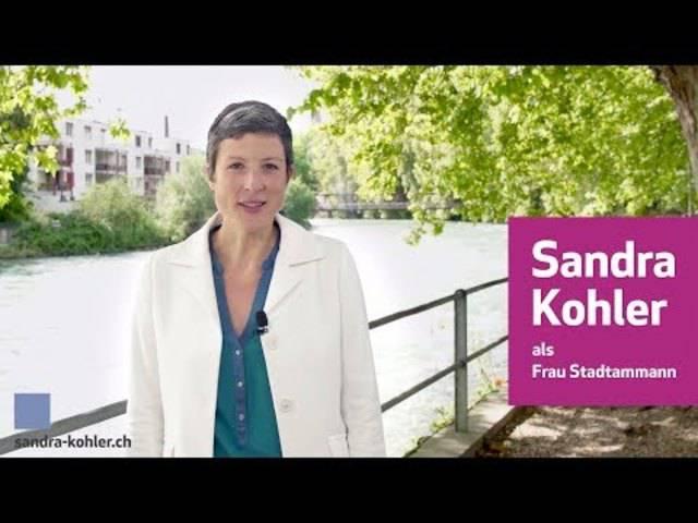 «Was jetzt noch fehlt, ist eine Stadtbadi»: In einem ihrer Youtube-Videos stellt Sandra Kohler ihre Ideen für Baden vor.