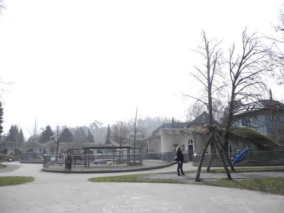 Hügelhäuser in der Freizeitanlage Chrüzacher
