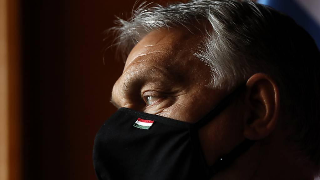 Ungarns Ministerpräsident Viktor Orban. Foto: Petr David Josek/AP/dpa