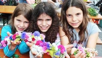Fest der Blumen: Aarau bereitet sich auf den Maienzug vor