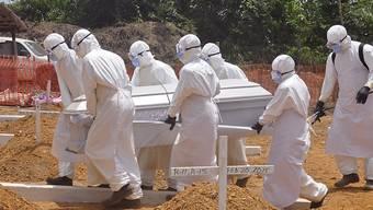 Ein erneuter Ebola-Fall in Liberia bedeutet einen Rückschlag im Kampf gegen die Seuche. (Archiv)