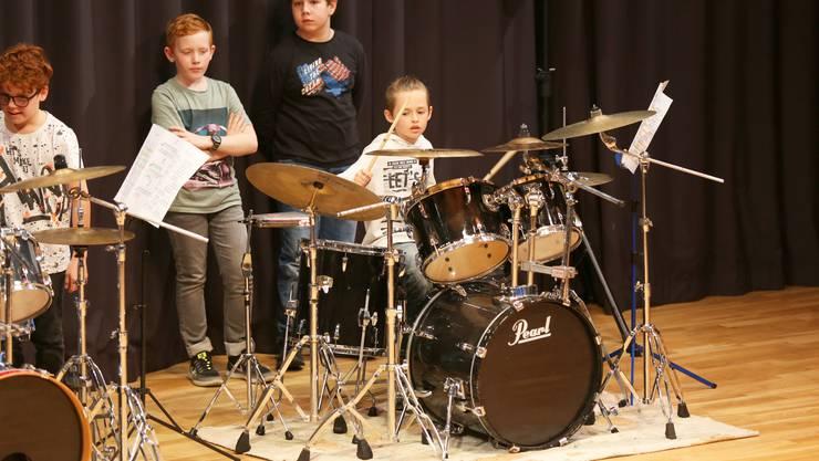 Drummer im Einsatz