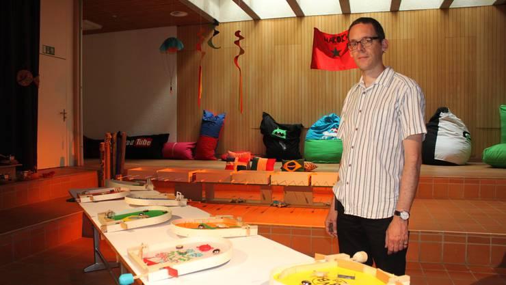 Jedes Jahr zum Schulschluss zeigen die Bachtelen-Kinder, wie sie kreativ gearbeitet haben. Ein Auswahl der gezeigten Arbeiten