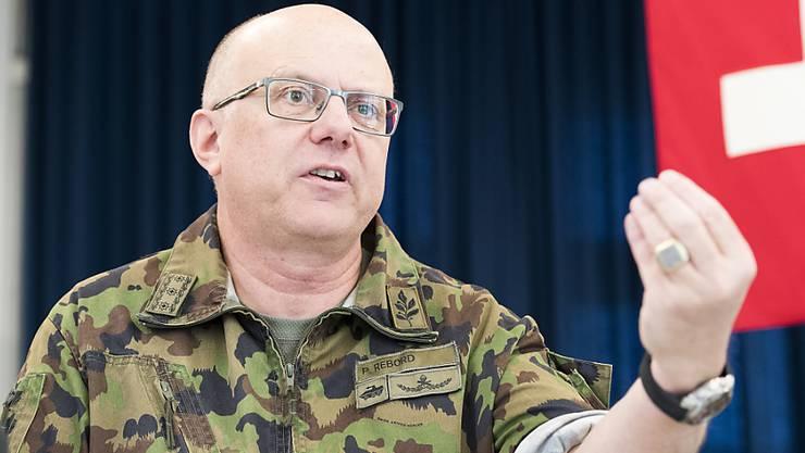 Armeechef Philippe Rebord hat eine Thrombose erlitten, die zu lange unbemerkt blieb.
