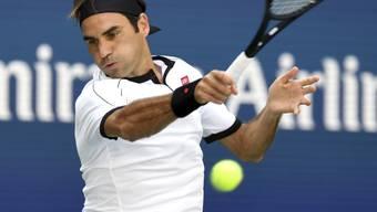 Wie aus einem Guss: Bei Roger Federer klappte am Freitag gegen Dan Evans alles nach Wunsch