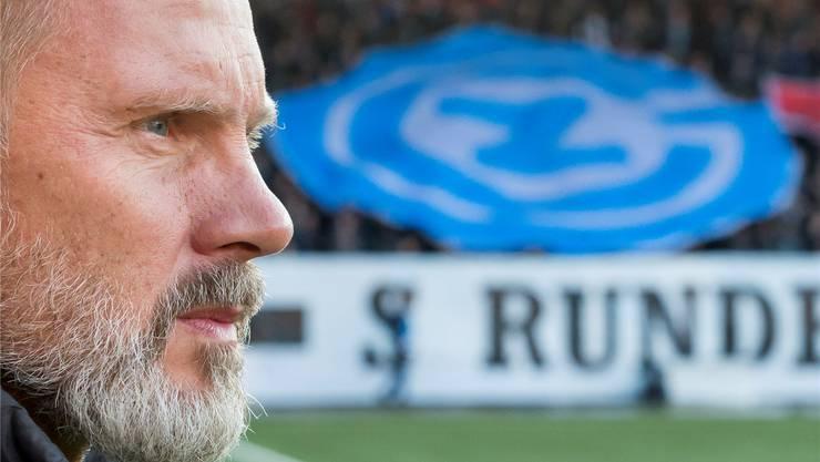 Ist guter Dinge: GC-Trainer Thorsten Fink.
