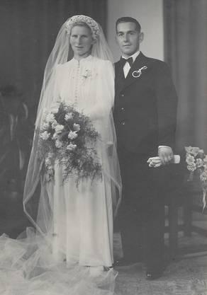 Am Montag, 18. August 1941, heirateten Ferdy Stutz und Gertrud Röthlin in Sachseln.