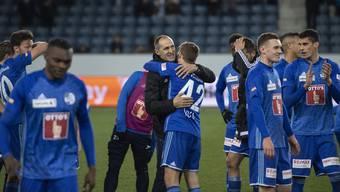 Trainer Thomas Häberli: «Ich bin so stolz auf meine Mannschaft.»