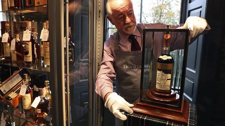Von dem versteigerten Whisky Macallan Valerio Adami aus dem Jahr 1926 wurden nur 24 Flaschen hergestellt.