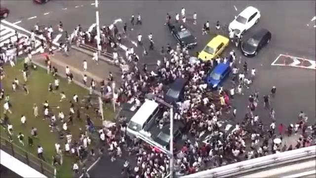 Wegen Pokémon: Verkehrschaos in Japan.
