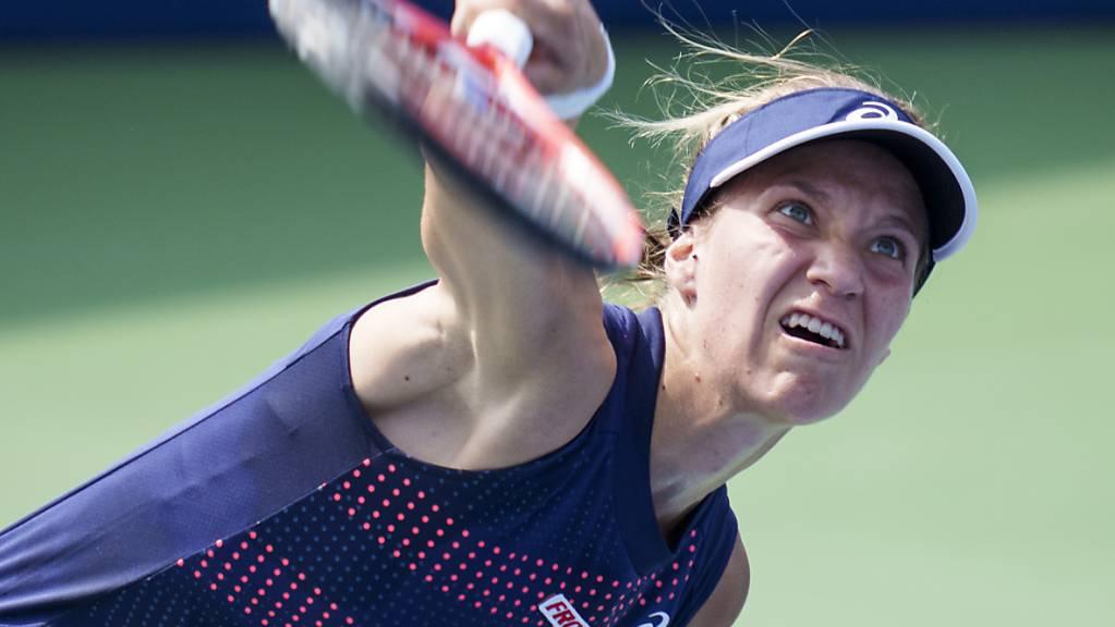 Viktorija Golubic scheitert auch im dritten Turnier seit den Olympischen Spielen in Tokio früh.