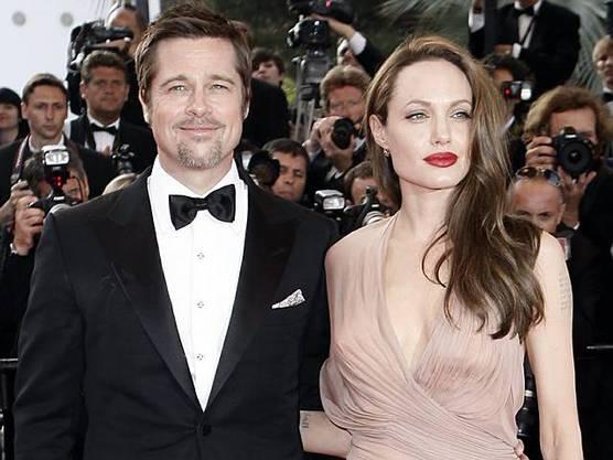 Brad Pitt und Angelina Jolie in Cannes