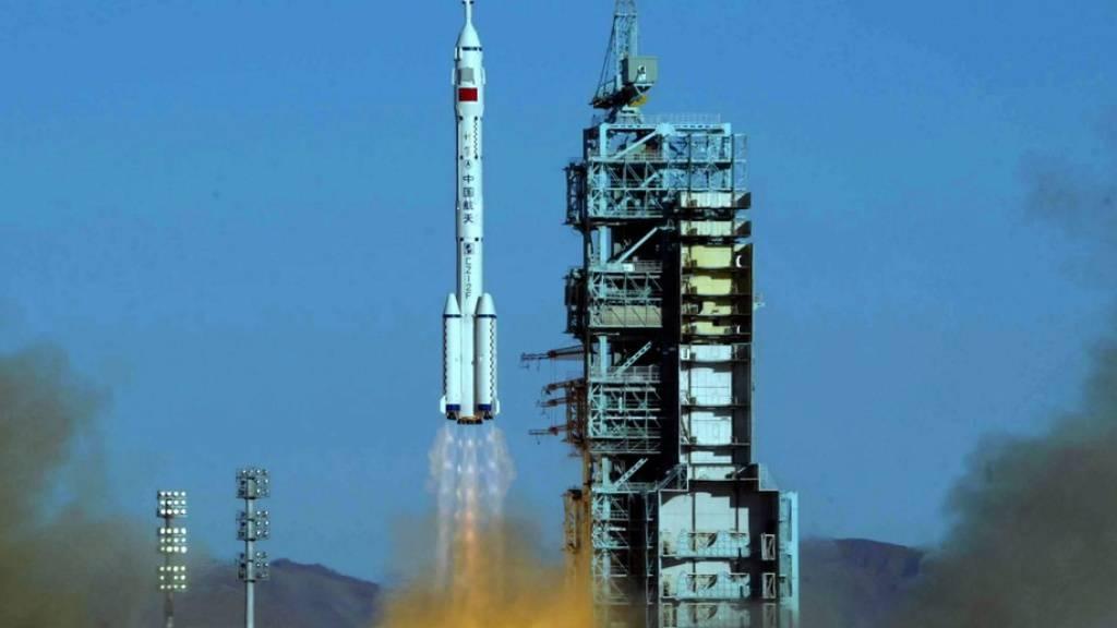 Raumfahrer wollen Rekord für China aufstellen: Sechs Monate im All