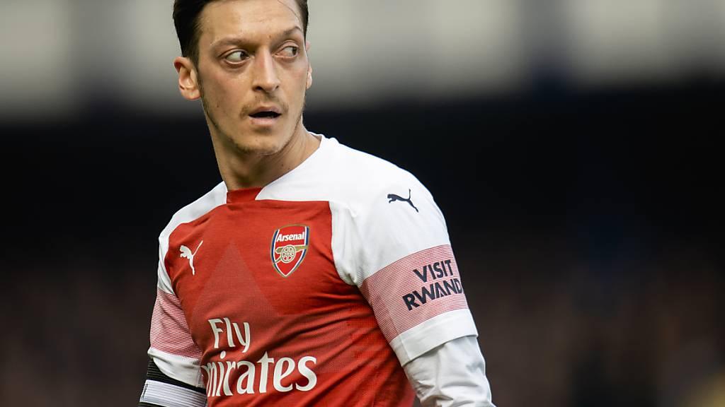 Stand bei Arsenal zuletzt auf dem Abstellgleis: Mesut Özil