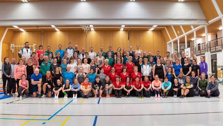 STV und SATUS Möriken-Wildegg: Die Vereine üben gemeinsam am Trainingstag 2019 für das ETF in Aarau.