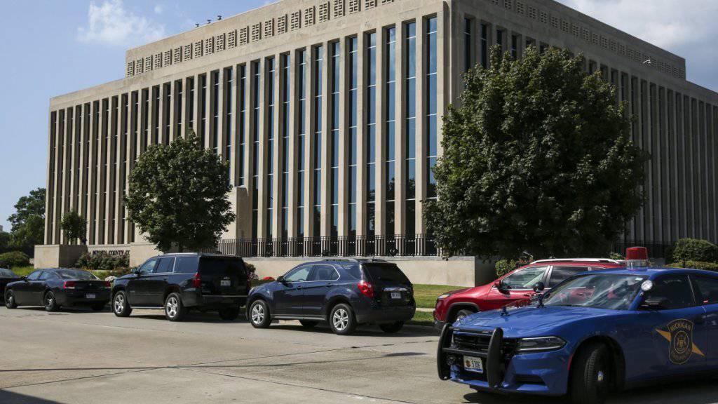 Gerichtsgebäude in St. Joseph im US-Bundesstaat Michigan: Hier ergatterte ein Häftling eine Waffe und erschoss damit zwei Polizisten.