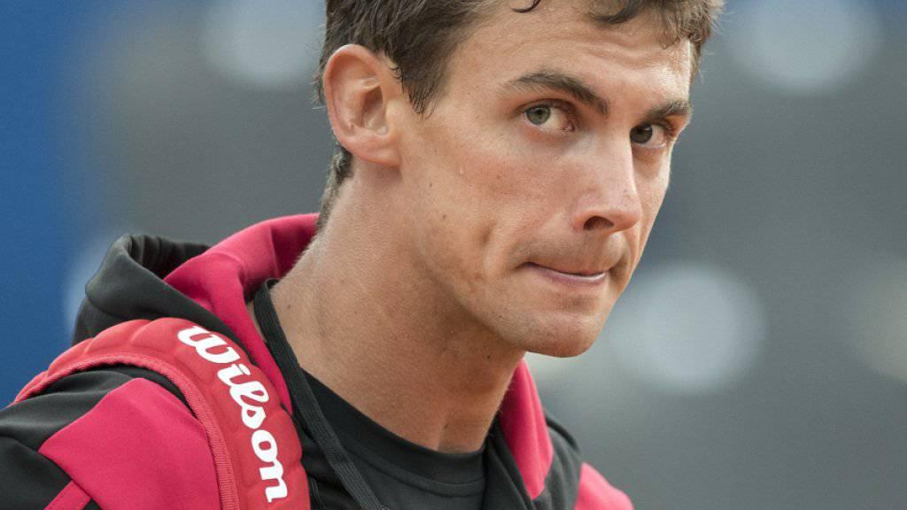 Henri Laaksonen musste in Washington nach den Sechzehntelfinals zusammenpacken