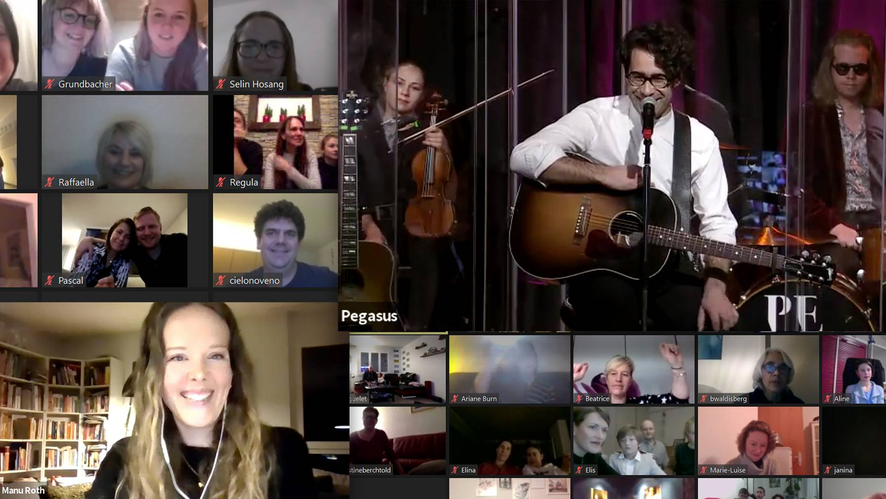Radio 32 Online Showcase mit Pegasus
