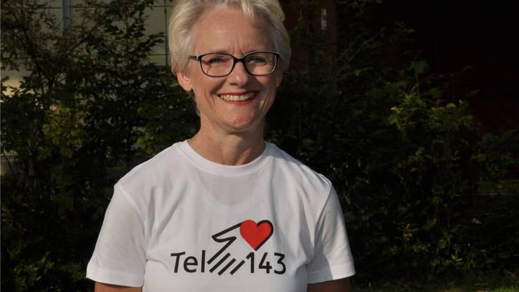 Christina Hegi, Geschäftsleiterin Tel. 143 AG/SO.