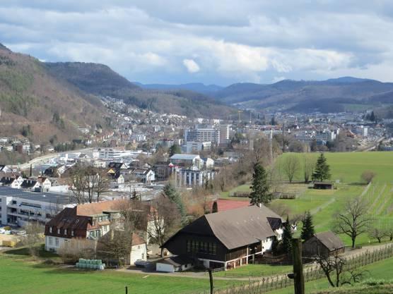 Doch schön die Hauptstadt Liestal vom Kanton Basel-Landschaft. Manche sagen zum Verlieben.