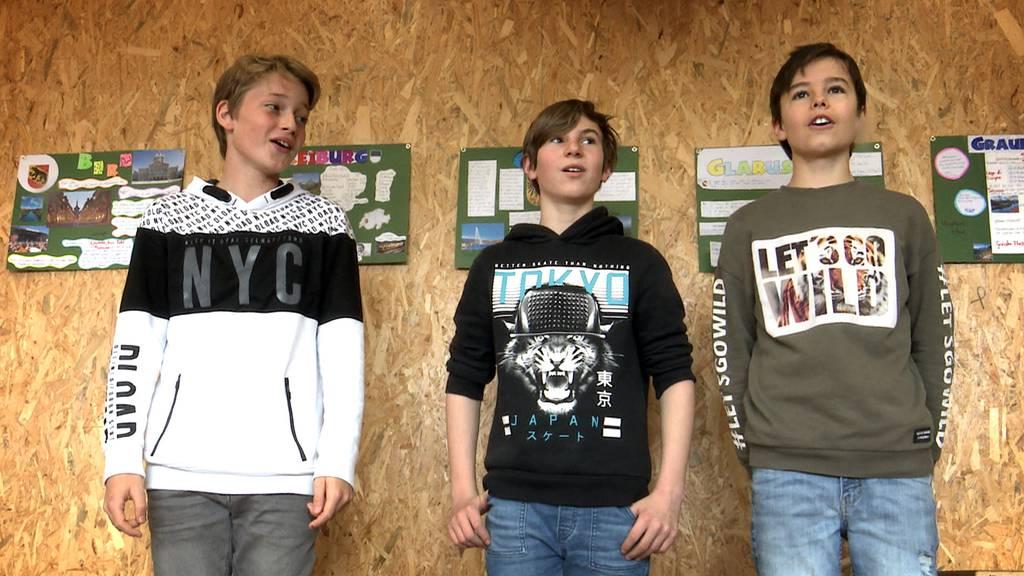 Schüler stimmen aufs Zentralschweizerische Jodlerfest ein