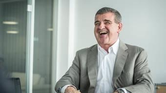 Hat gut lachen: Stadler-Patron Peter Spuhler hat sein Unternehmen erfolgreich an die Börse gebracht und hat weiterhin das Sagen.