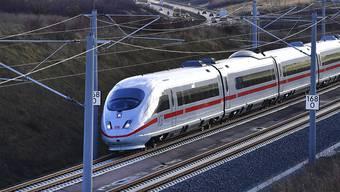 Künftig dauert die Reise statt sechs nur noch vier Stunden: Zwischen München und Berlin wurde eine neue Bahn-Hochgeschwindigkeitsstrecke eröffnet.