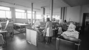 Viele Frauen, die administrativ versorgt wurden, kamen ins Frauengefängnis Hindelbank. Bild: ETH-Bibliothek Zürich (28.3.1968)