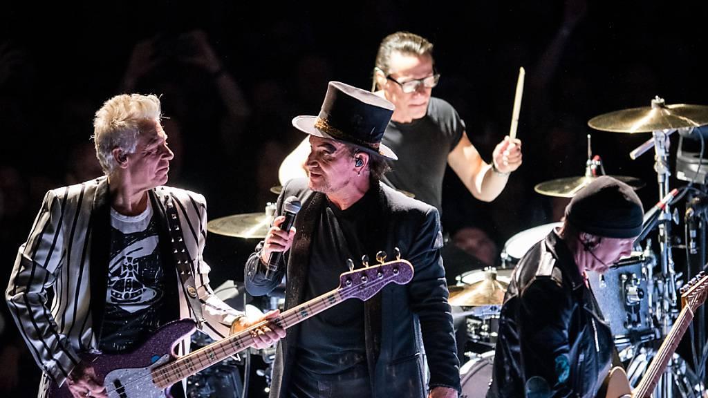 U2 spendet Millionen für Kampf gegen das Coronavirus
