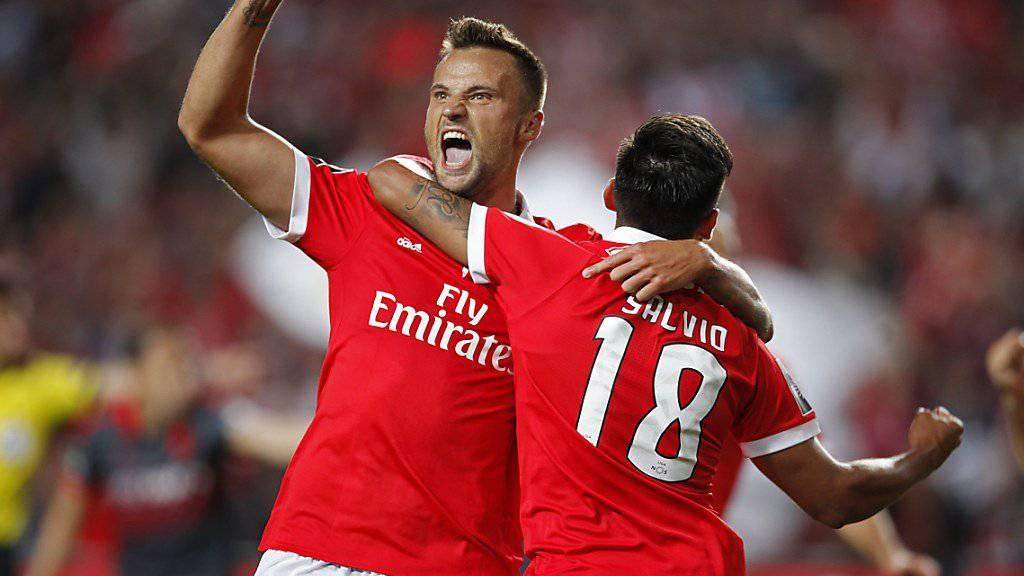 3 Pflichtspiele, 3 Tore - Haris Seferovic fühlt sich bei Benfica Lissabon pudelwohl