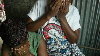 Zwei Vergewaltigungsopfer aus Liberia (Archiv)