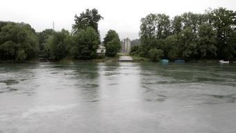 Aareufer bei Flumenthal: Bei der Einmündung der Sigger kam es zum Badeunfall. (Archiv)