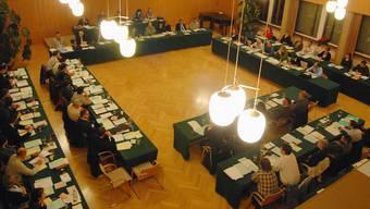 Seine Zeit ist abgelaufen: Der aktuelle Einwohnerrat anlässlich der konstituierenden Sitzung am 21.Januar 2010. az Archiv/Walter Schwager