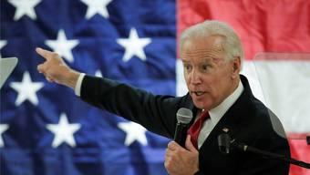 Joe Biden wird wohl heute seine Absichten in Sachen Präsidentschaftskandidatur bekannt geben.Eduardo Munoz/Reuters