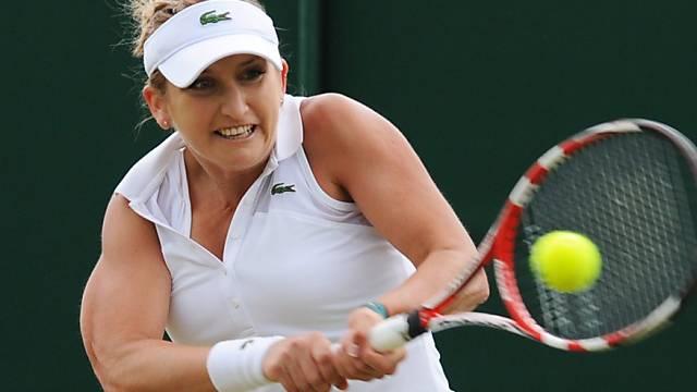 Timea Bacsinszky unterlag Caroline Wozniacki