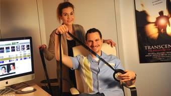 Freuen sich auf die Uraufführung: Violaine Stehli und Michael Wettstein.